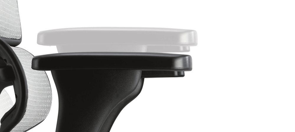 Эргономичное компьютерное кресло Comfort Seating Ergohuman Standart подлокотники