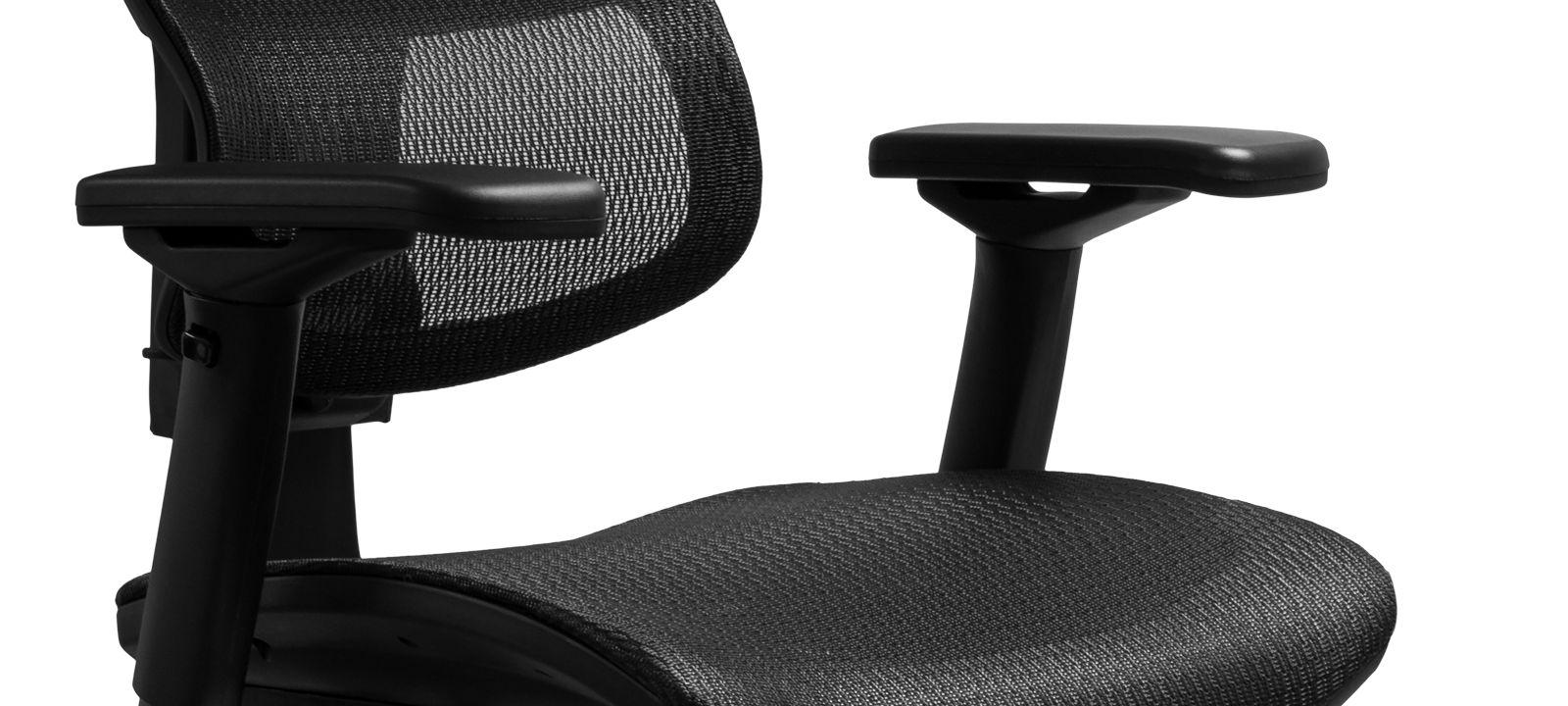 Эргономичное компьютерное кресло Сomfort Seating Mirus подлокотники