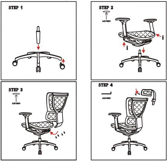 Эргономичное компьютерное кресло Сomfort Seating Mirus инструкция