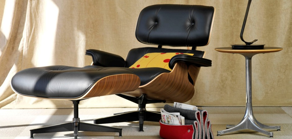 Кресло Eames Style Lounge Chair