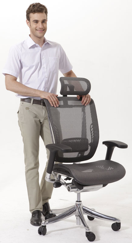 Эргономичное кожаное кресло Expert Spring