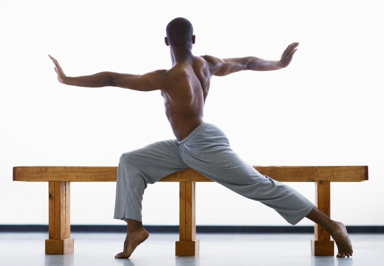 Осанка, йога