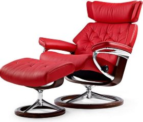Кресло реклайнер Stressless Skyline Signature chair/footstool